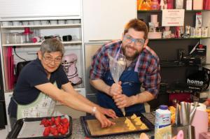 """Kochmatinee im """"DAS Kochwerk"""" am 23.5.2017Thema: """"Spargel und Erdbeere"""""""